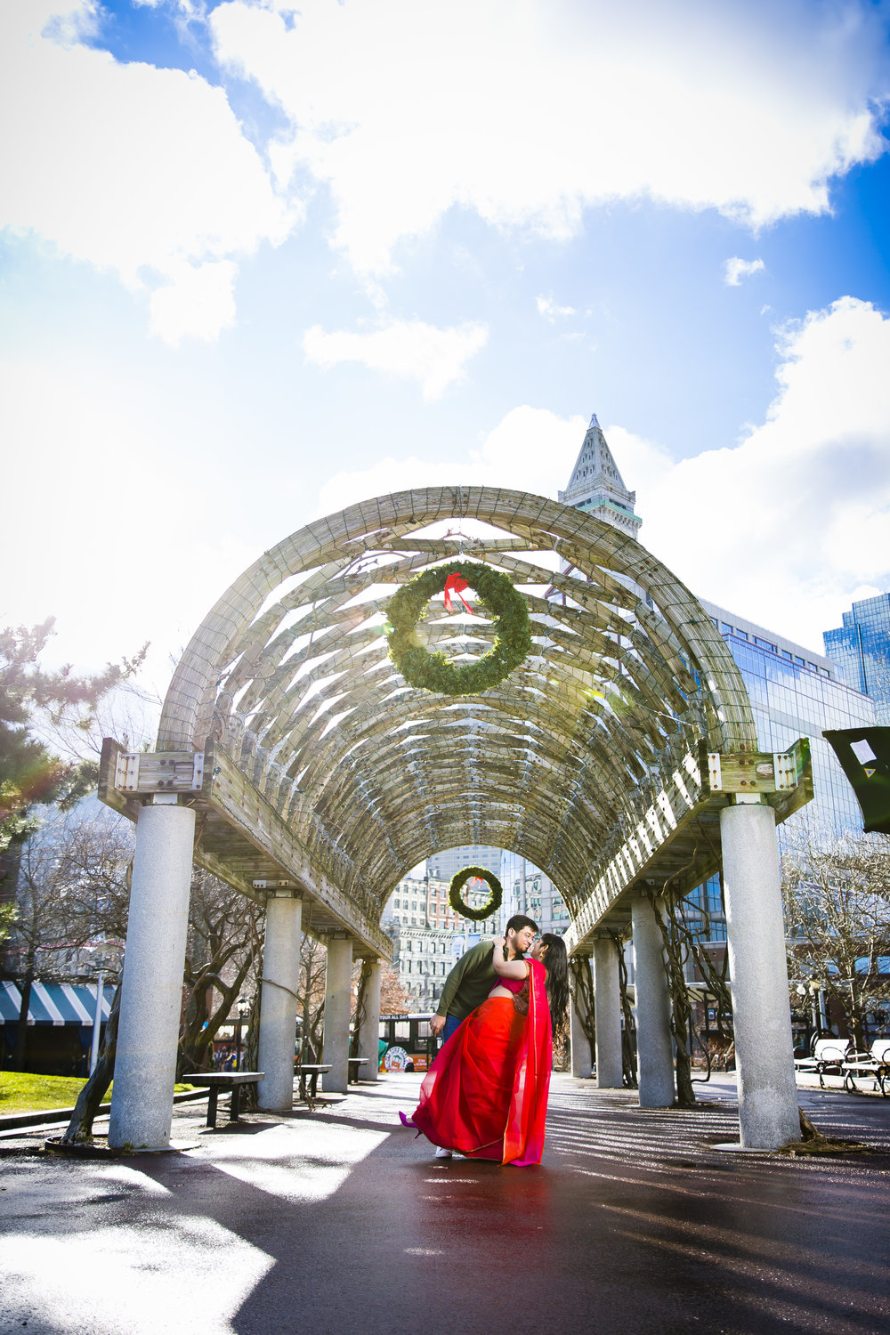 314A0855 Giovanni The Photographer Boston Engagment Photography Waterfront - Christopher Columbus Park - Public GardenPhotography School.jpg