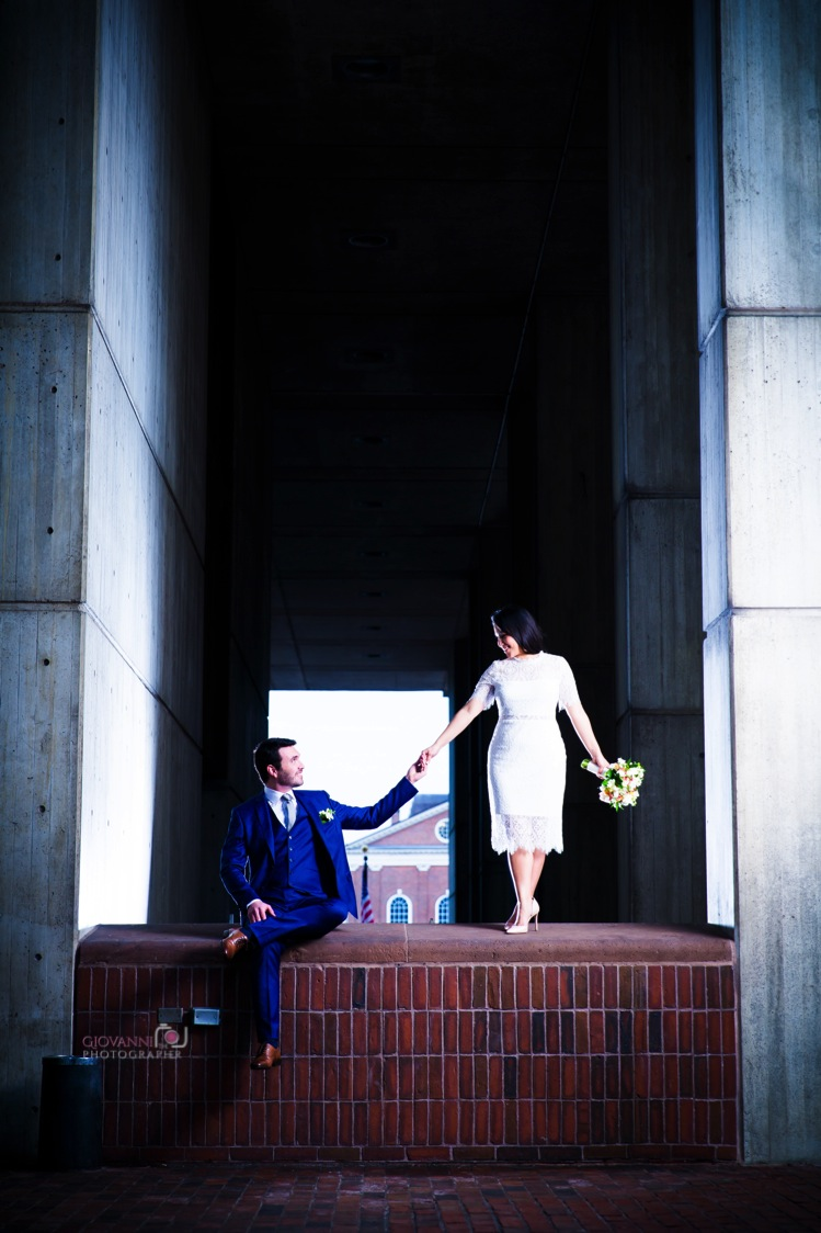 8C2A8858-Giovanni The Photographer-Wedding Photography in Boston-City Hall Elopement - Christopher Columbus Park WM20.jpg