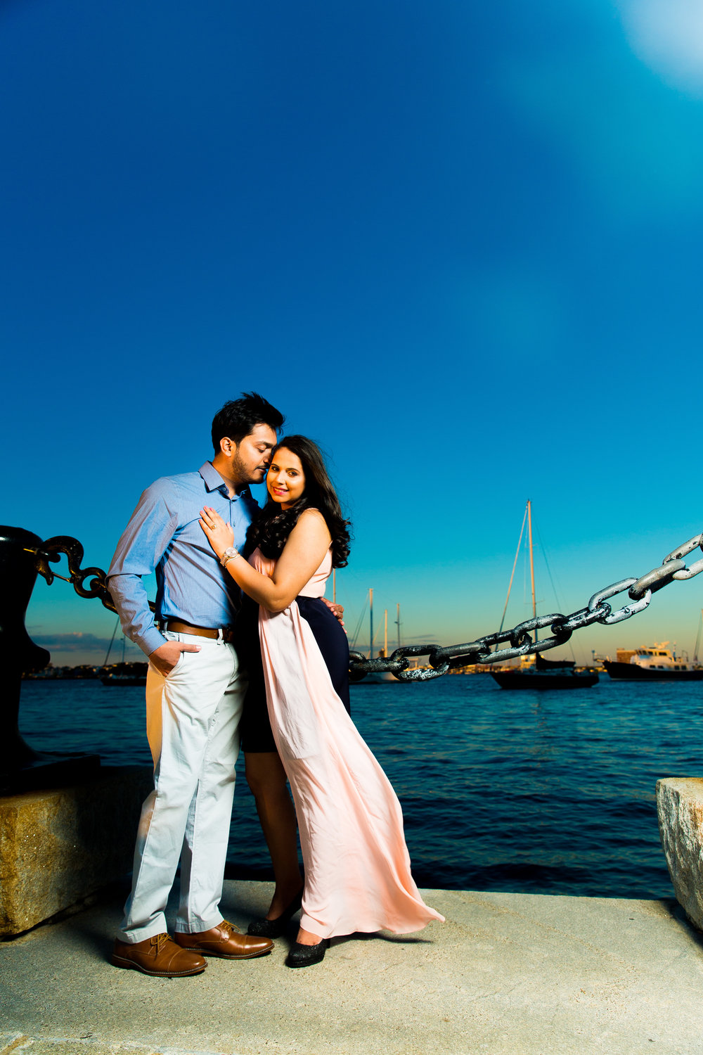 314A1140-Giovanni The Photographer-Boston Engagement Session-Christopher Columbus Park - Boston Waterfront.jpg