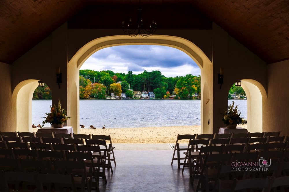 Lake Pearl Wedding Wrentham, MA | Janie & Marc