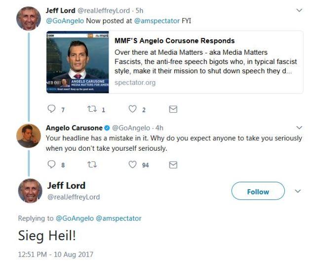 The tweet that got Jeffrey Lord fired from CNN last week