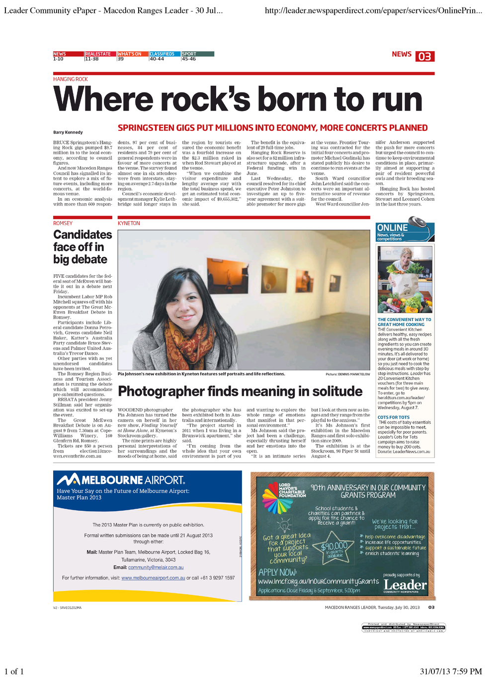 Leader Community ePaper - Macedon Ranges Leader - 30 Jul 2013 - Page #3.jpg