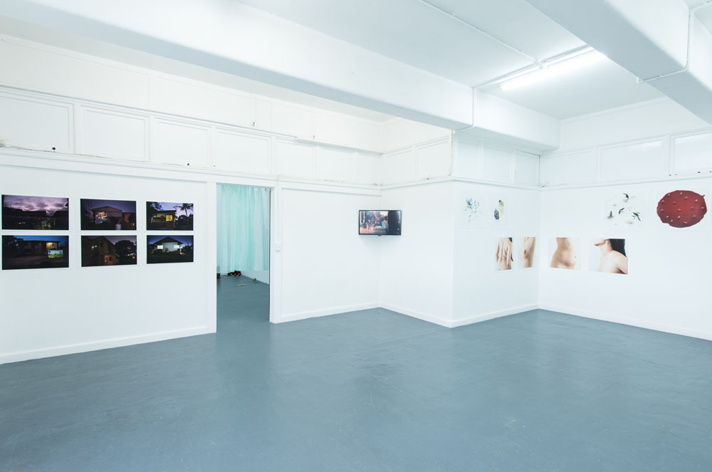 Installation view Blindside | photo Nick James Archer & Blindside