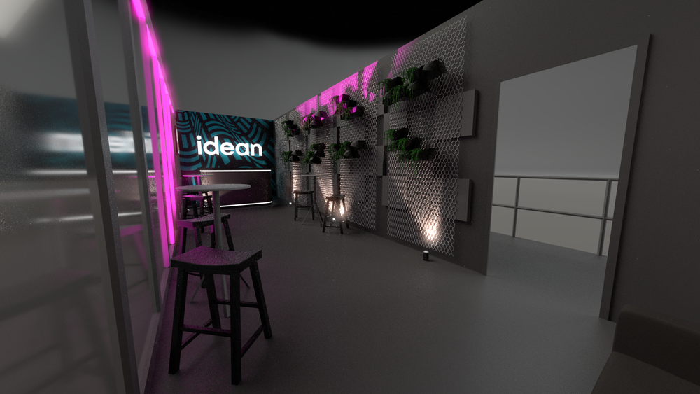 Idean Slush Booth Design