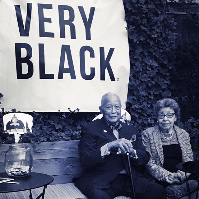 About last night. Mayor Dinkins (106th Mayor of NY) and his wife #Legacy #BrooklynNights #RooftopLife @theveryblackproject @geeniebox . . . . . . . . #womenintech #womenfounders #entrepreneur #startups #startup #entrepreneurlife #tech #culture #yogilife #yogi #mindfullness #mood #blacklove #oldhoward #nyc #veryblack #blackgirlgenius #blackgirlmagic #afropunk