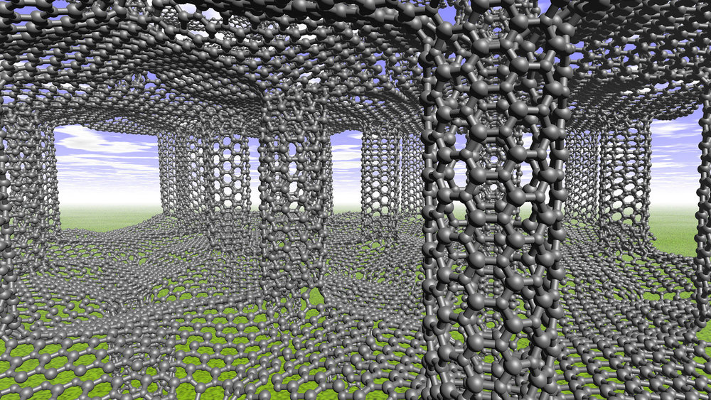 Photo Credit: http://scitechdaily.com/images/Pillared-Graphene-Structures-Gain-Strength-and-Toughness.jpg