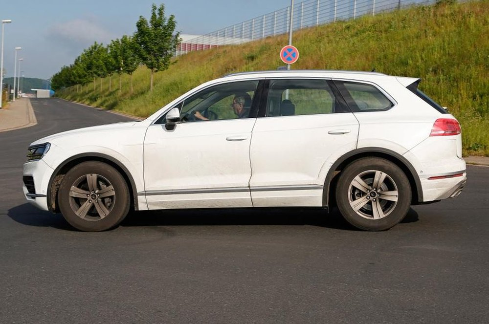 Spotted All New 2018 Volkswagen Touareg Love Your Ride