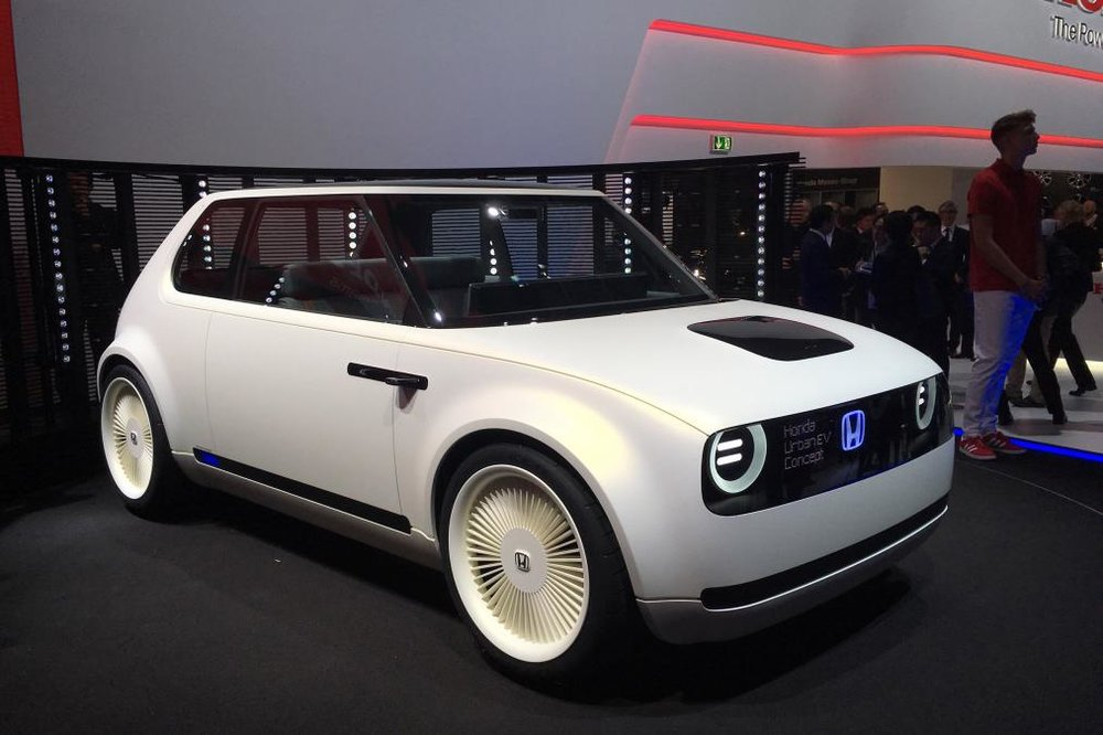 Nice ... Named The Honda Urban EV Concept Takes Inspiration From The Original  Civic Of The Seventies, And Will Form The Basis Of A Small Electric  Production Car ...