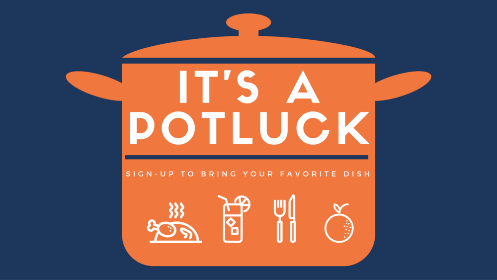 thanksgiving potluck online invitation