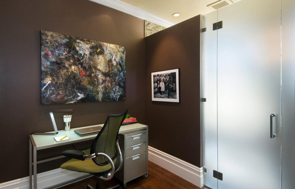 Brown Office Design