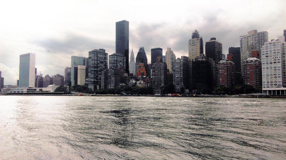 Urban New York Skyline