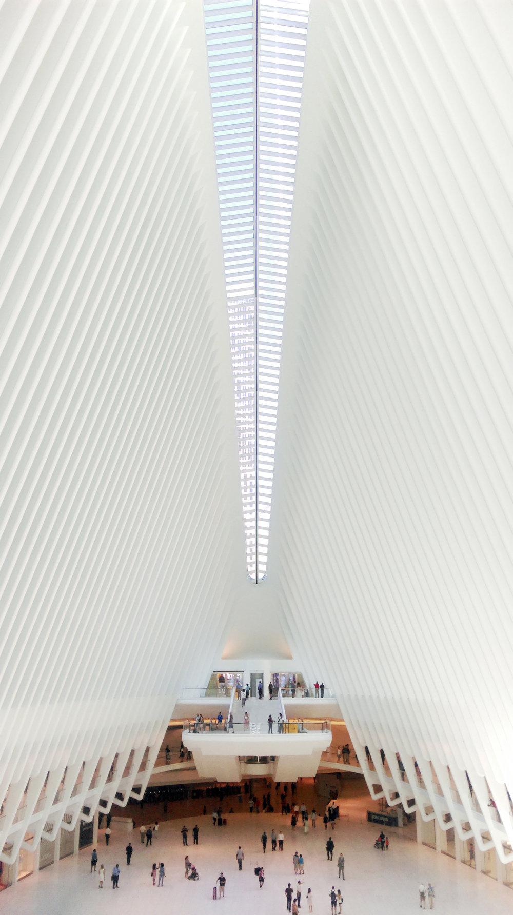 World Trade Center Memorial Oculus