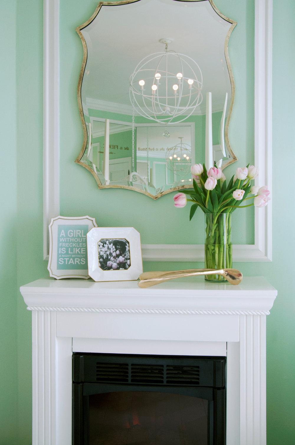 White Fireplace Design