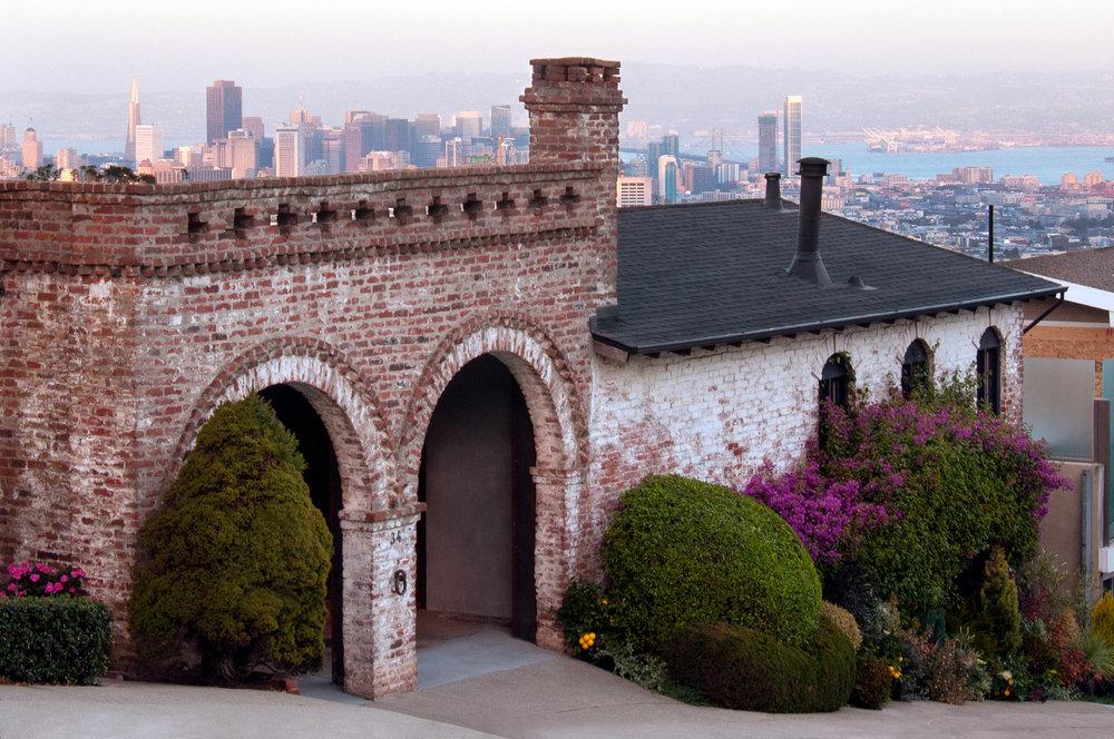 Brick Romanesque Home