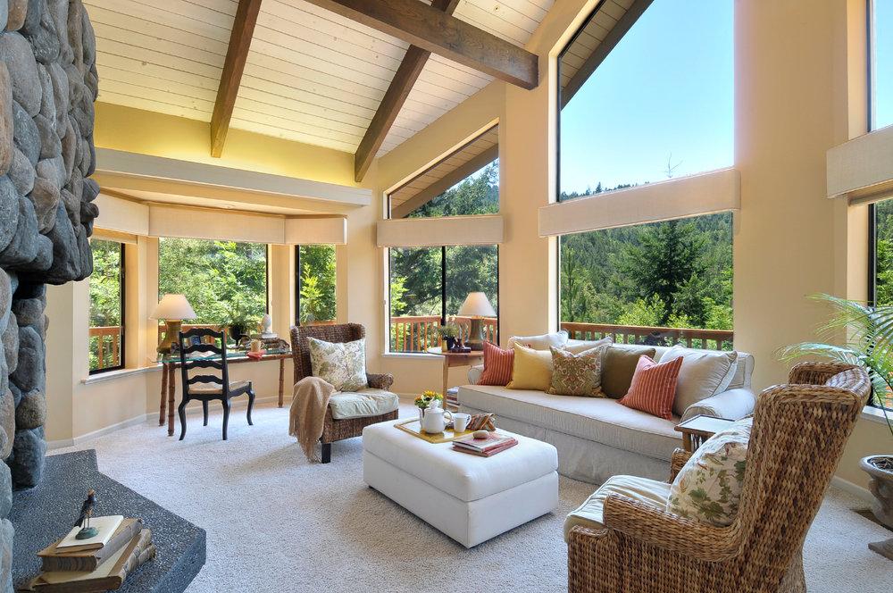 Yellow Living Room Design