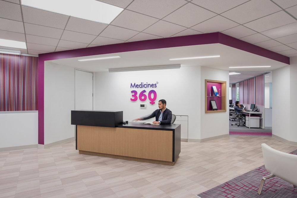 Medicines 360 Lobby