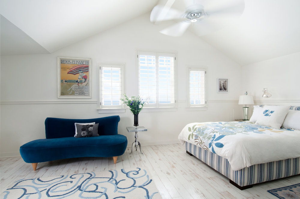 California Cape Cod Bedroom