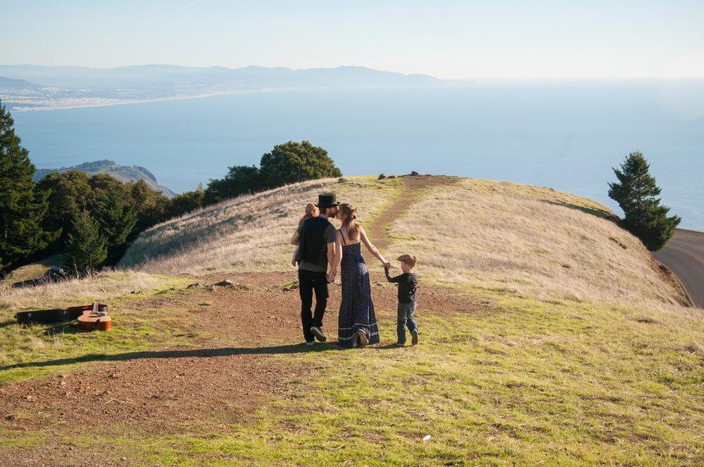 Family on Mt. Tamalpais