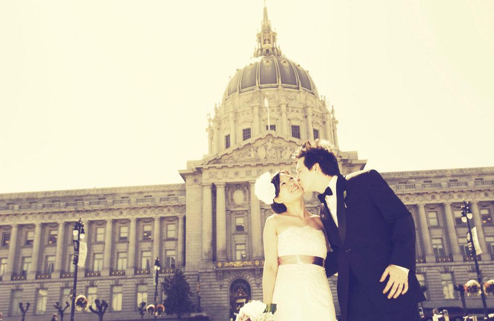 Marriage at San Francisco Civic Center
