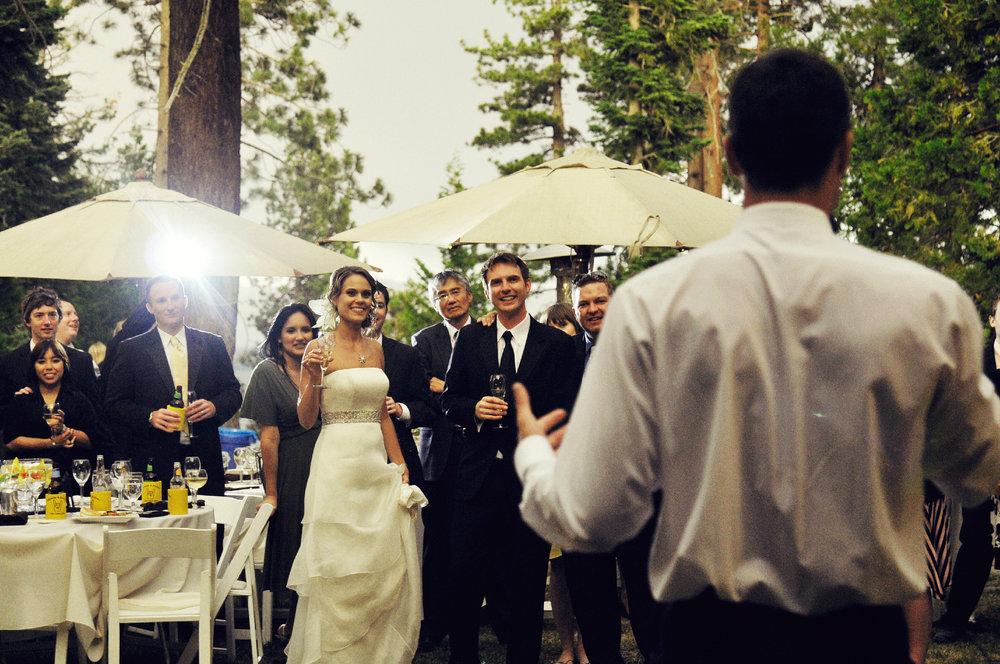 Wedding Reception Lake Tahoe