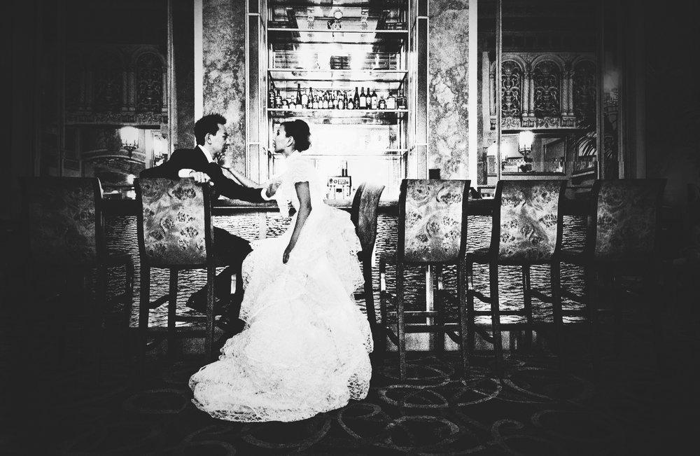 Wedding at Sir Francis Drake Hotel