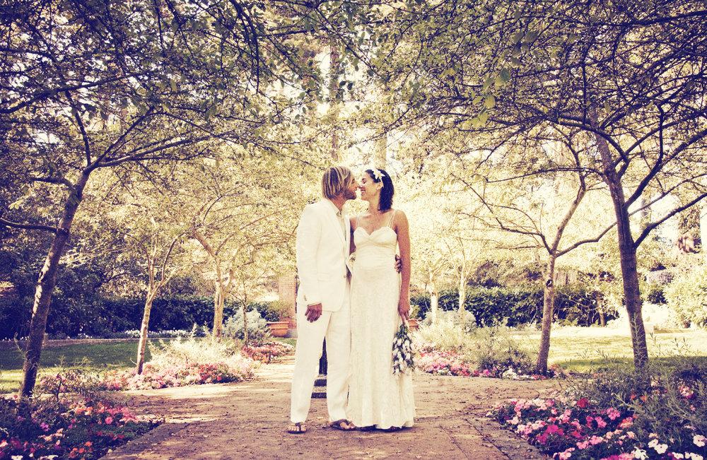 Shakespeare Gardens Wedding