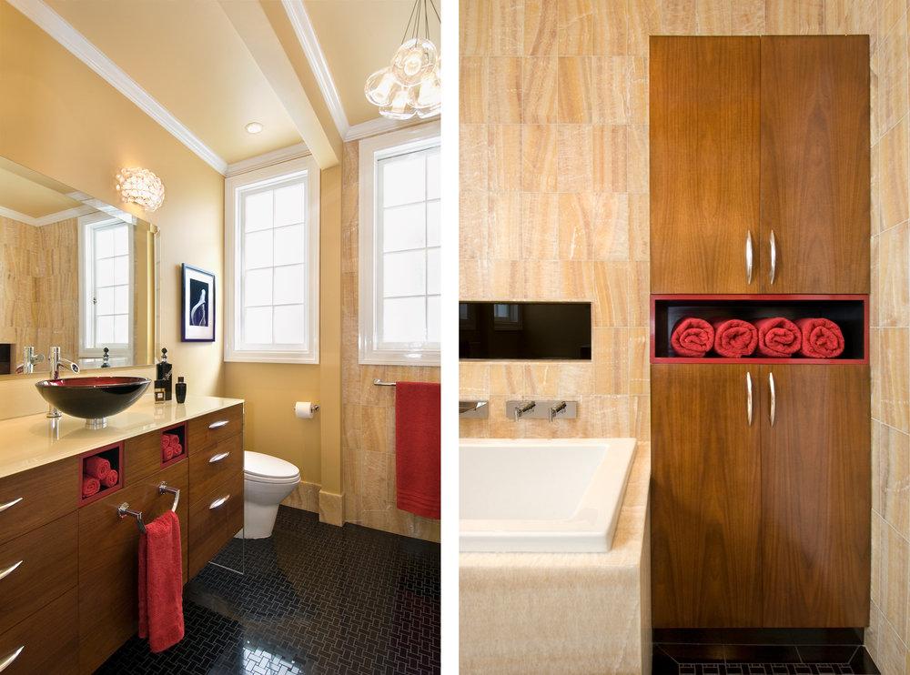 Yellow Bathroom Design