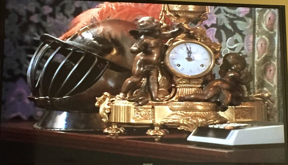 Look at that clock!