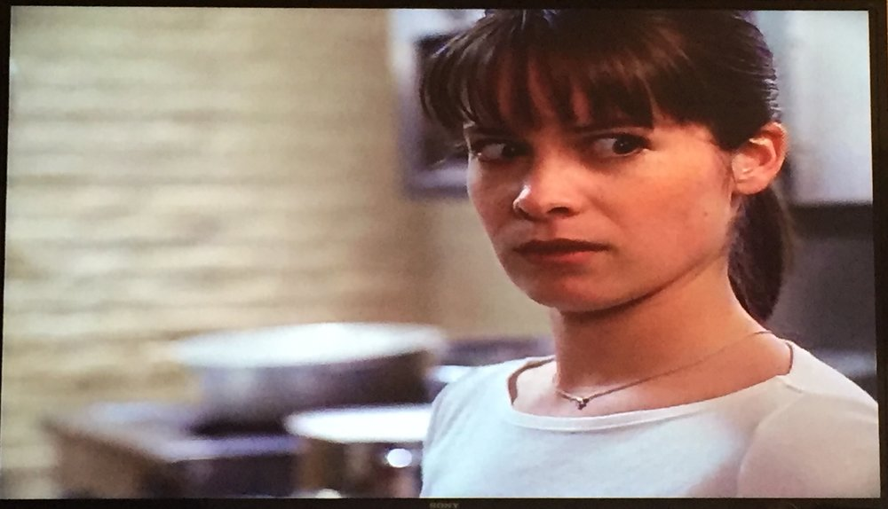 Gotta love Piper's face as Blue Prue leaves the kitchen!