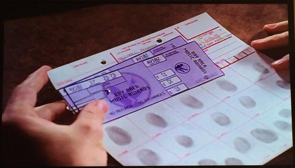 Here's some tickets, along with Prue's fingerprints, but there's a couple things wrong here...