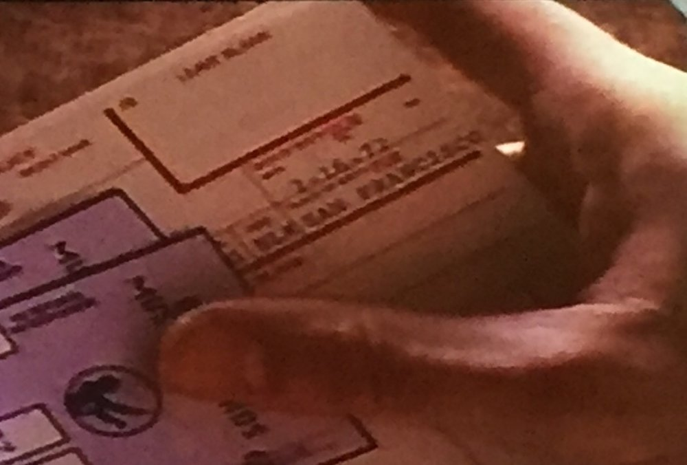 Also... That's not Prue's birthday!! Who's fingerprints are these, really?!