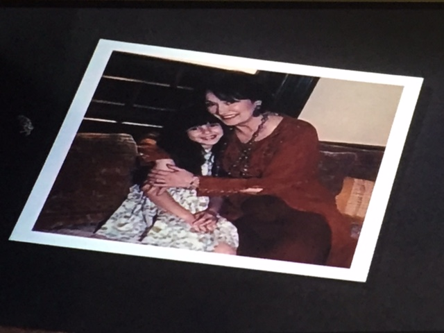 Grams and young Phoebe.