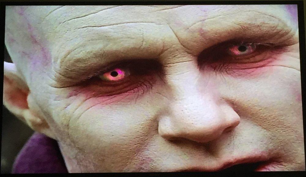 Swirly Whirly Albino Demon Eyes