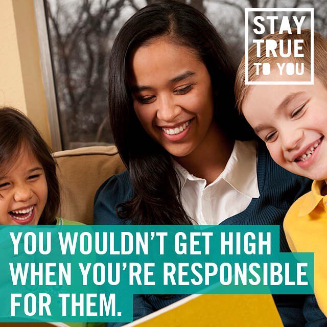 So why would you get high when you're responsible for you? #staytrueoregon