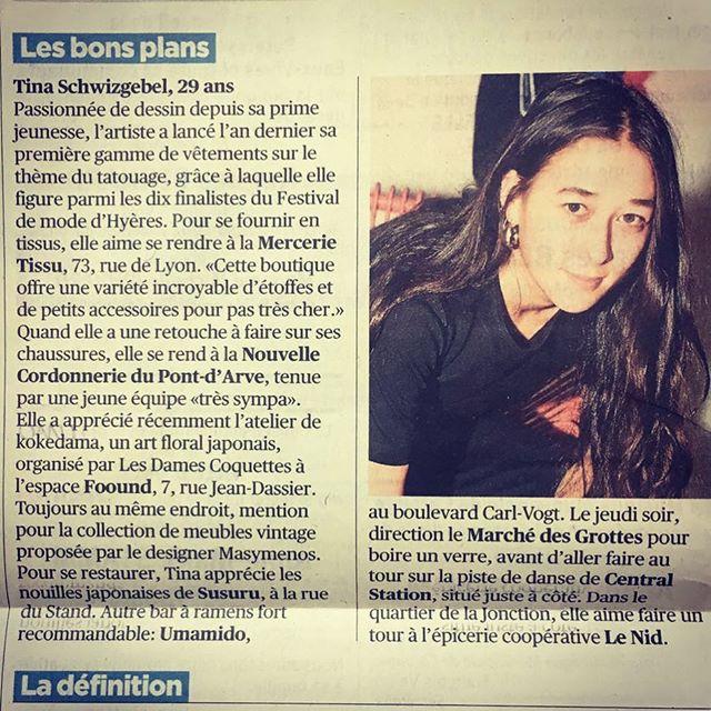 @lanouvellecordonnerie  Dans les bons plans de la superbe @tina_schwizgebel ;) Merci 💛🧡❤️ @tdgch #bonplan #cordonnerie #geneve #geneva