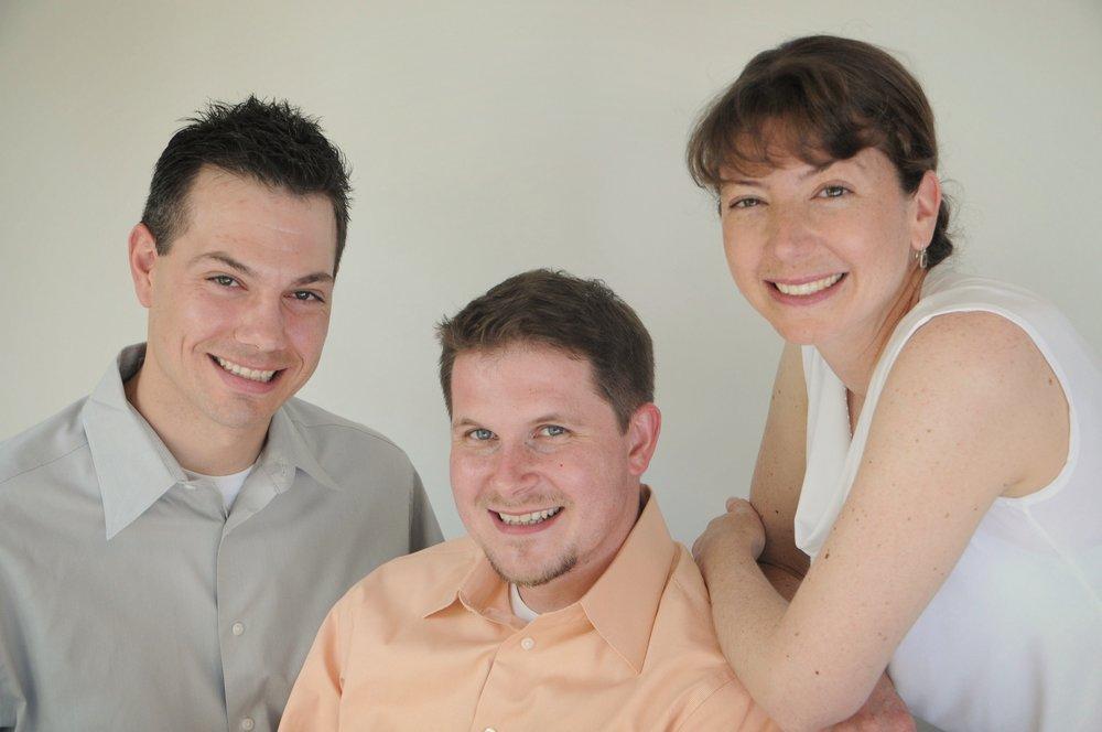 Contrapuntus Brass Trio   L-R: Todd Schendel, Bernhard Scully, Amy Schendel