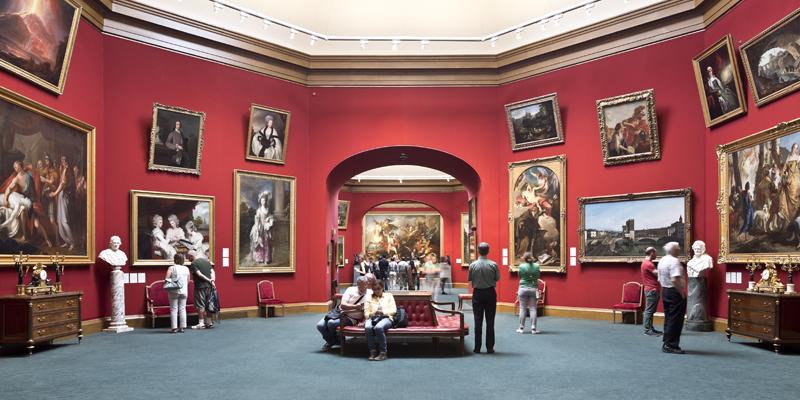 Scottish National Gallery, The Mound, Edinburgh. National Galleries of Scotland.