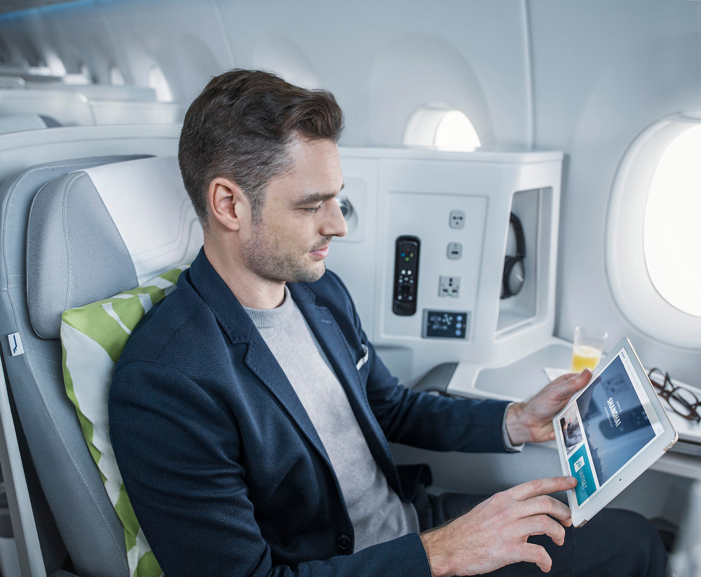 Major Nordic carriers like Finnair are moving their fleet to the broadband Internet even on short and medium distance hauls.