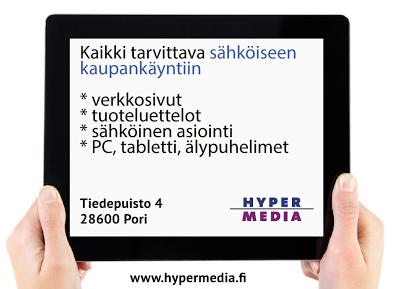 Hypermedia Oy - verkkosivut, tuoteluettelot, sähköinen asiointi - ratkaisu joka toimii PC:ssä, tabletissa ja älypuhelimessa