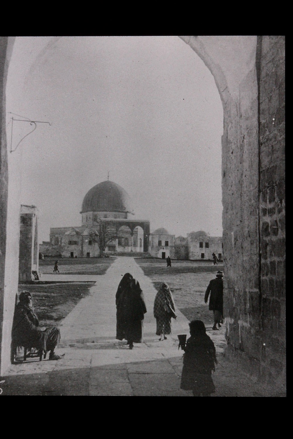 A35 Haram entrance gate, taken by Bell in December 1899