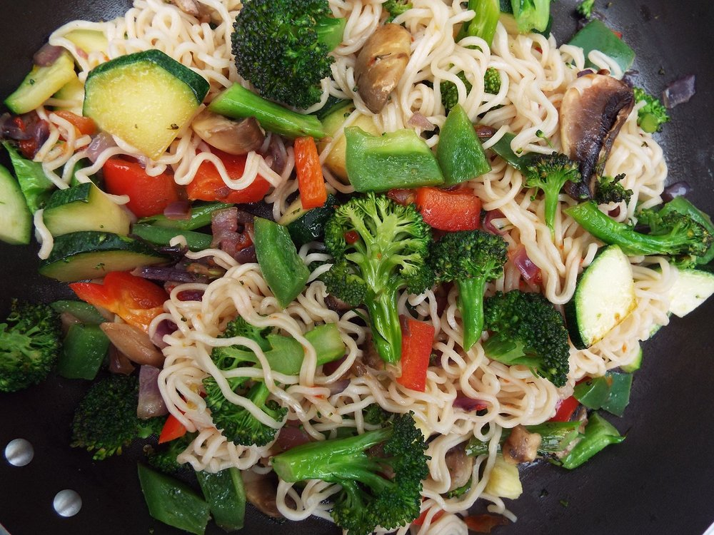 Vegetable Noodles Recipe