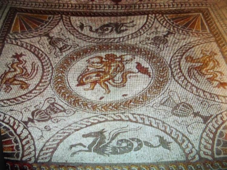 Beadlam Roman Villa - mosaic