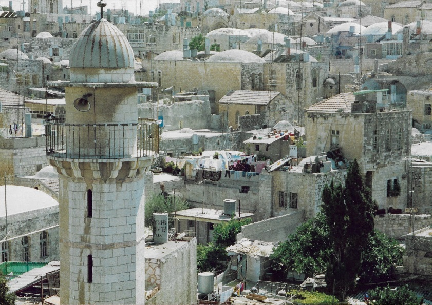 Old City Jerusalem, summer 1990