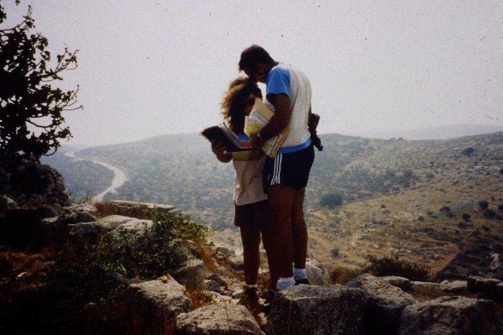 At Dei Saman, West Bank, 1990