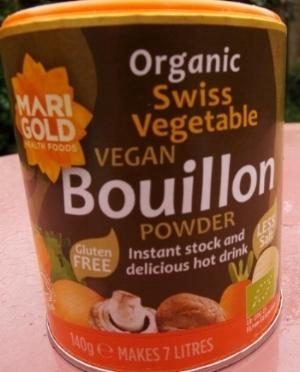 Bouillon - vegan, gluten-free
