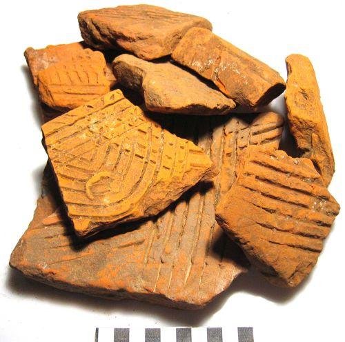 Flue tile fragments (finds.org.uk)