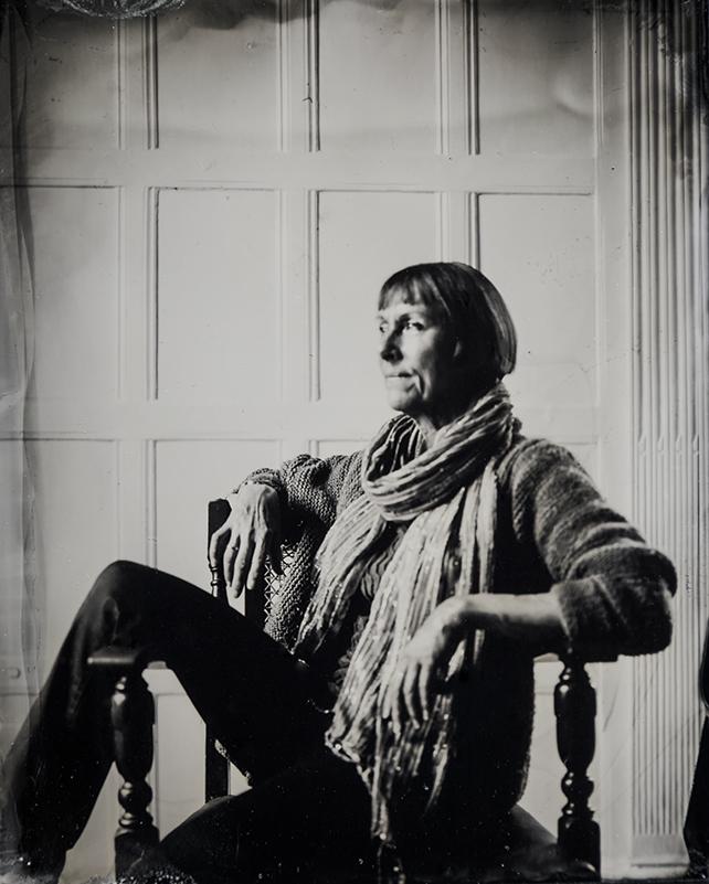 Tintype Portrait.