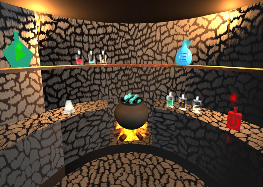 Explosive Alchemy - Main Menu