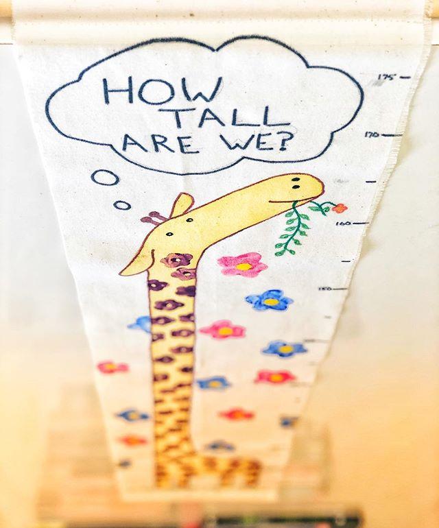 今週の日曜日のイベントでは、これを作ります!午前10:30から、「Height Chart」をお楽しみに! ✨ 🌈 🇬🇧 #英会話 #守谷 #英語 #子ども #スクール