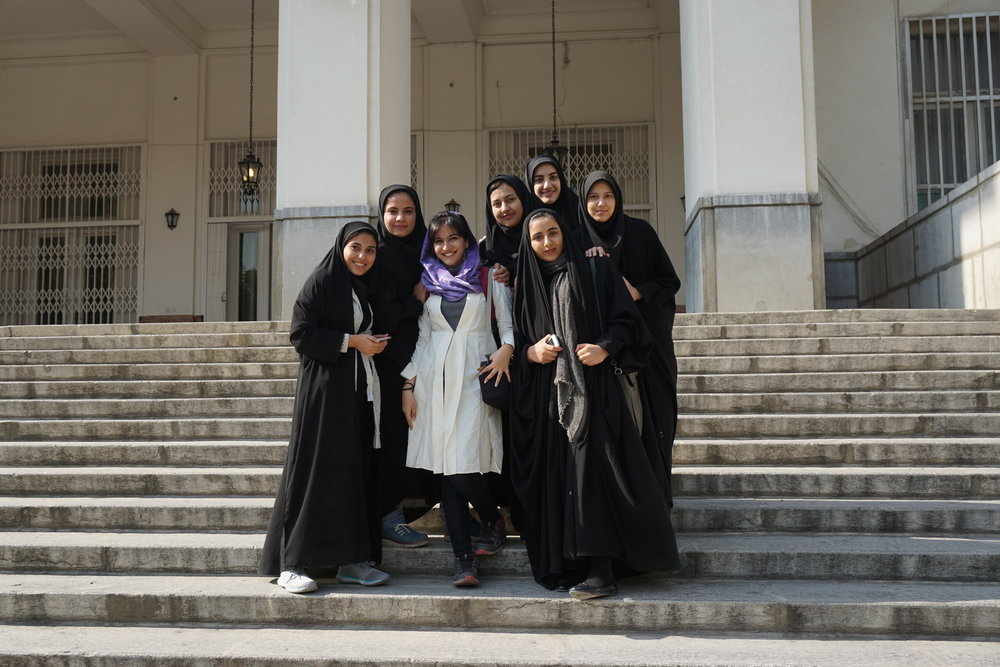 Mastering the art of wearing scarf in Iran